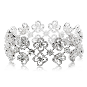 Lili Jewelry Lily-Cut diamond bracelet
