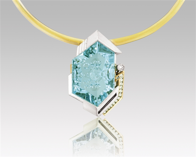 Denny Wong Designs aqua enhancer pendant