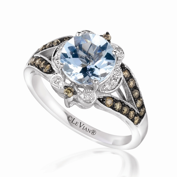 Le Vian Sea Blue Aquamarine ring