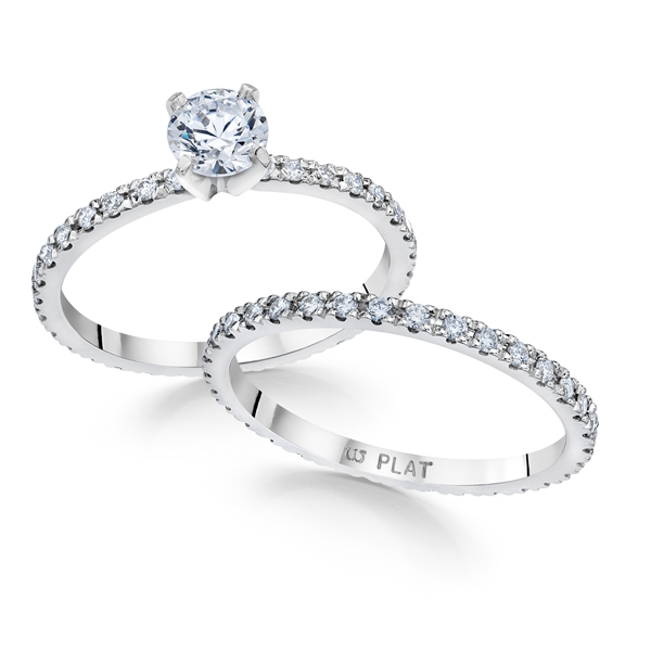 Whitehouse Brothers diamond eternity set