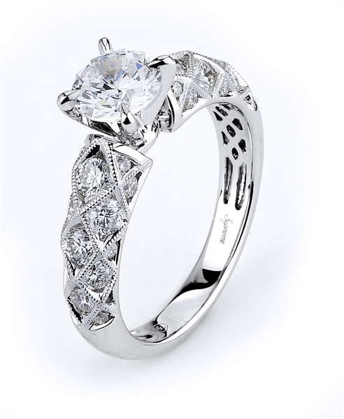 Supreme Jewelry Desiree diamond engagement ring