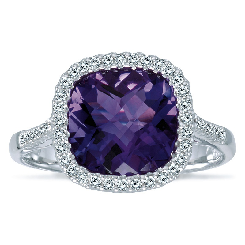 Color Merchants amethyst ring
