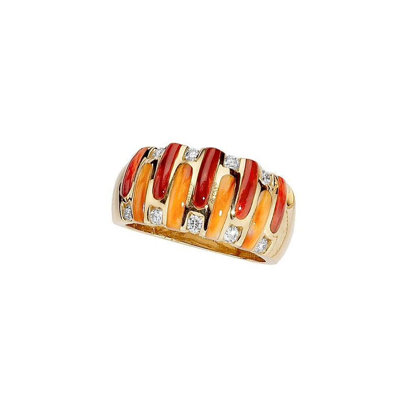 Kabana red spiny oyster ring