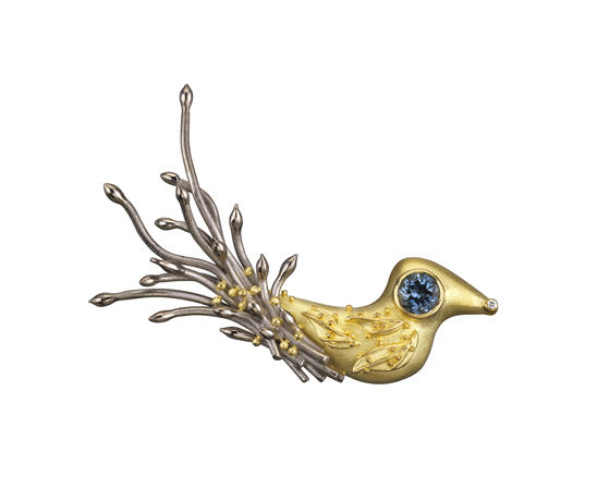 Cornelia Goldsmith brooch