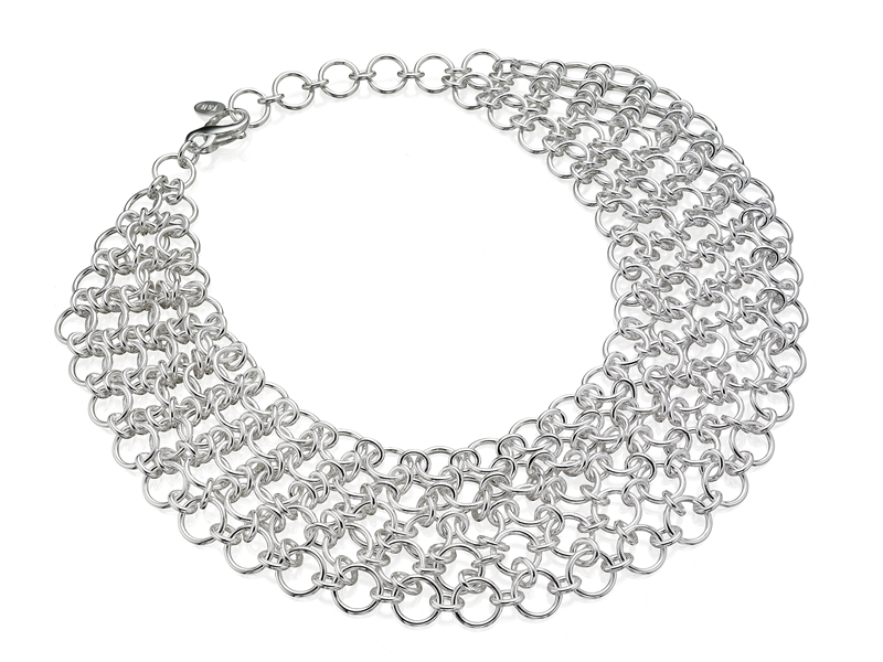 Thistle & Bee Infinity five-strand necklace