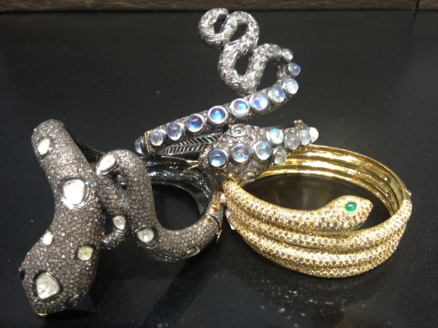 Snake bracelets from California Collection