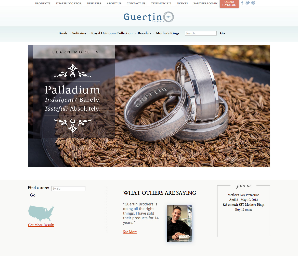 Guertin Bros website