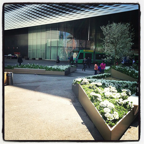 An update outdoor space at Baselworld