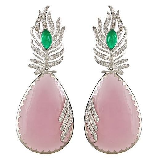 Cristina Sabatini Pavone earrings