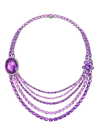 Lorenzo amethyst necklace