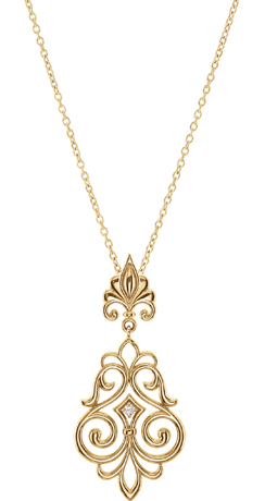 Stuller 14k gold necklace