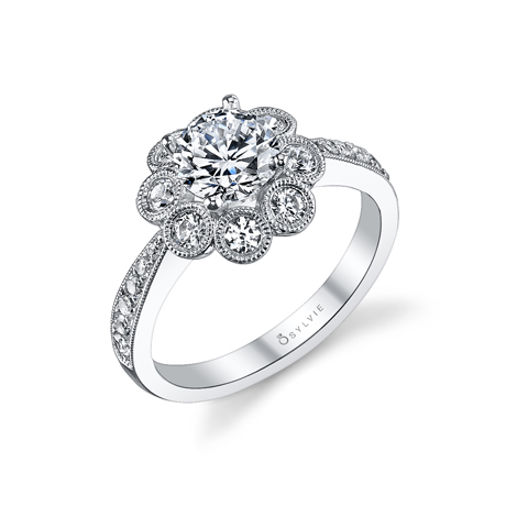 Sylvie Collection diamond ring