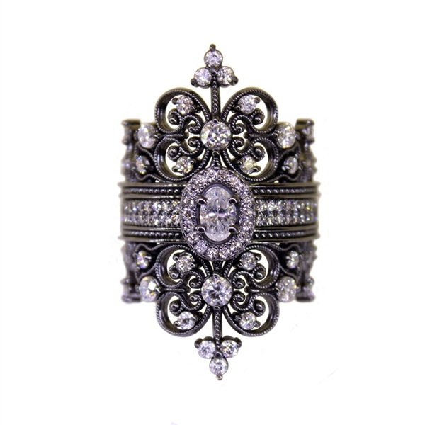 Norman Covan diamond Contessa ring