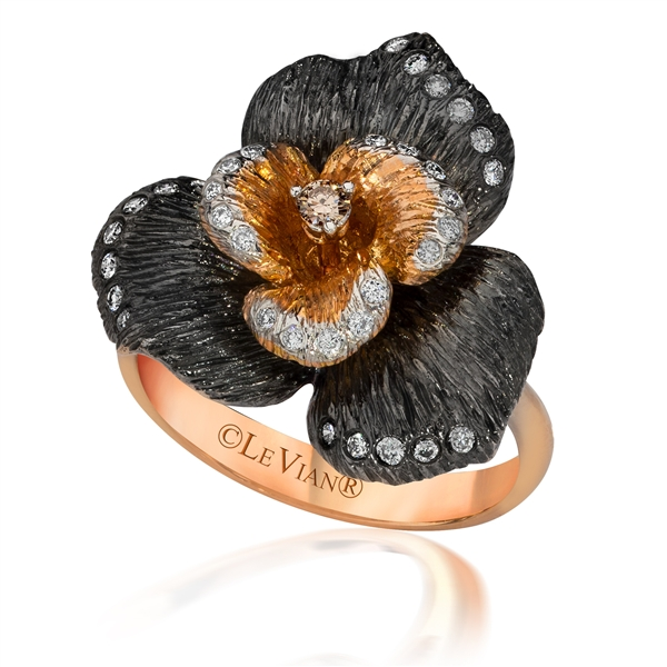 Le Vian Black Orchid ring