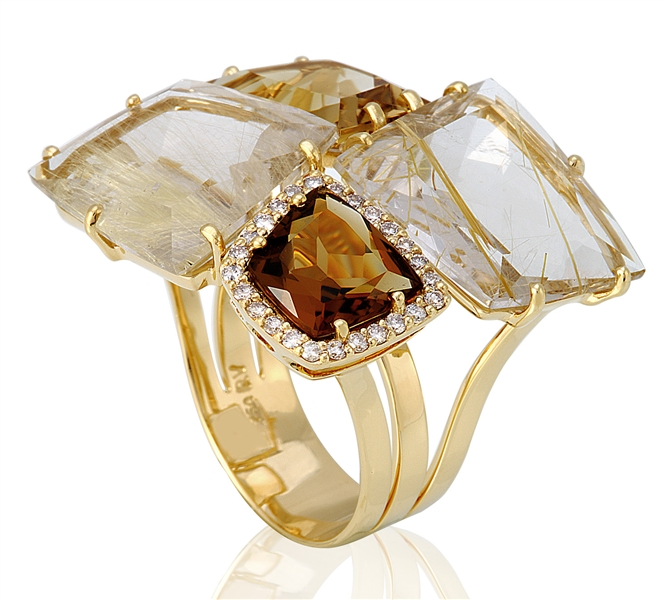 Vianna Brasil Geometrique collection ring