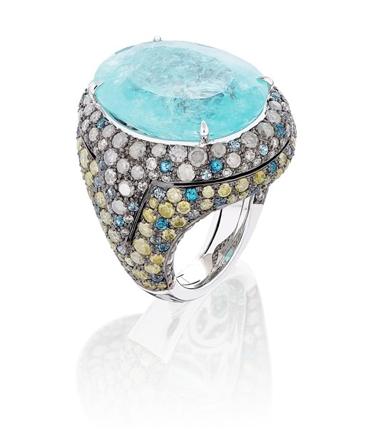 Miiori NY paraiba cocktail ring