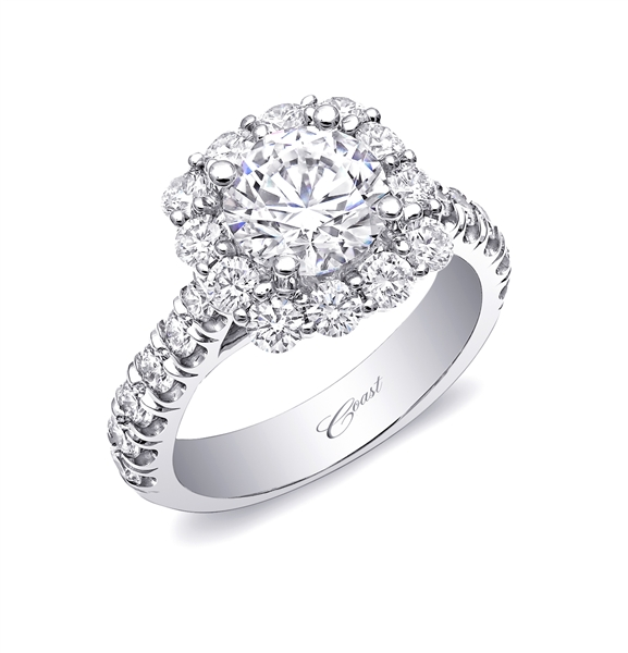 Coast Diamond Charisma engagement ring