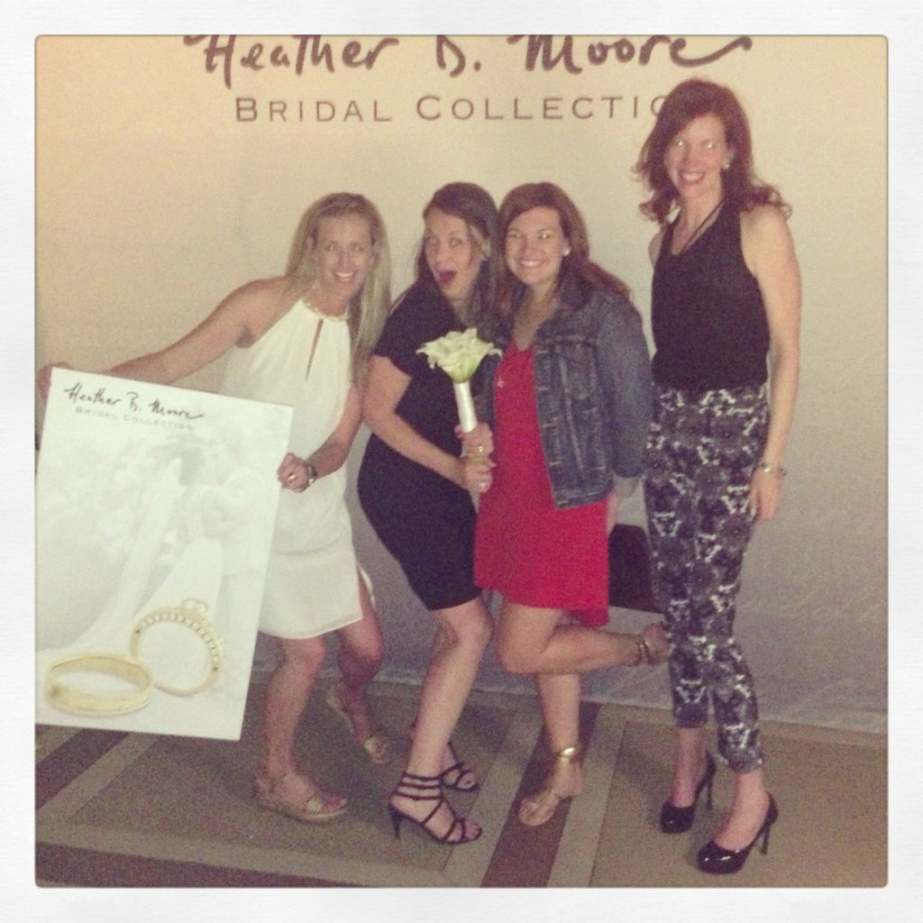Heather Moore bridal event