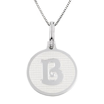 IMD Trading Co round initial pendant