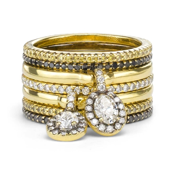 Jade Trau stackable rings