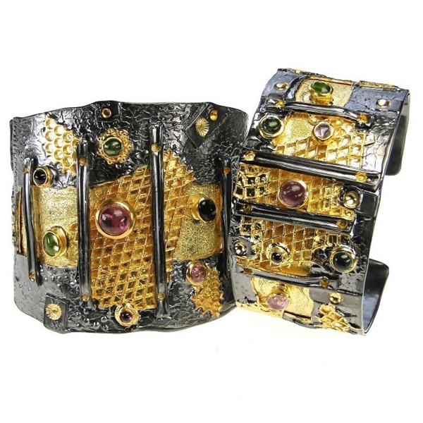 Polemis Honey Bee cuff bracelet
