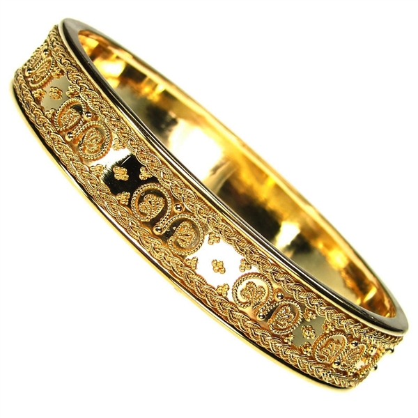 Damaskos 18k bangle bracelet