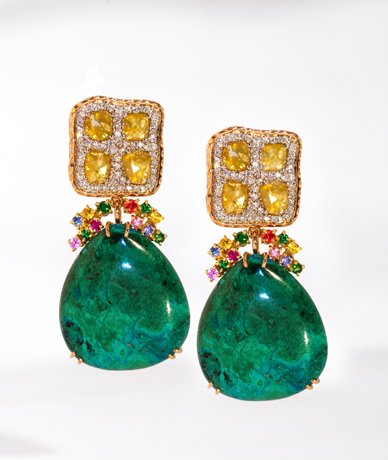 Earrings from Mauro Felter