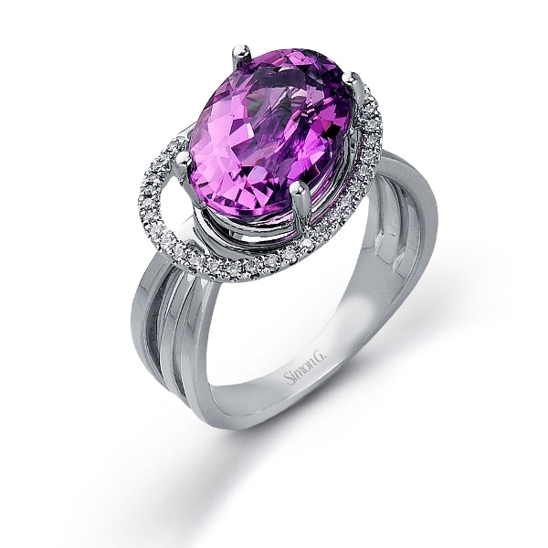 Simon G. kunzite ring