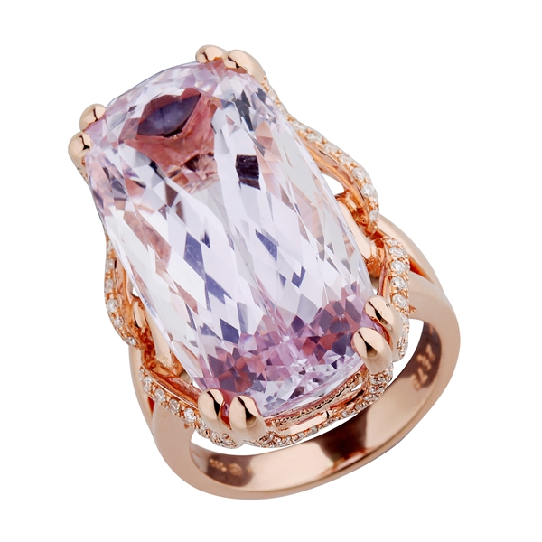 Nelson Jewellery kunzite ring