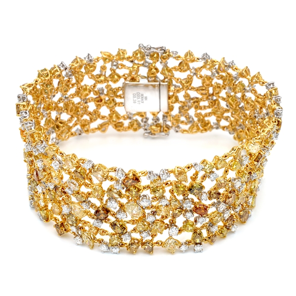 Almor Designs fancy diamond bracelet