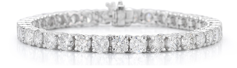 Paramount Gems diamond tennis bracelet