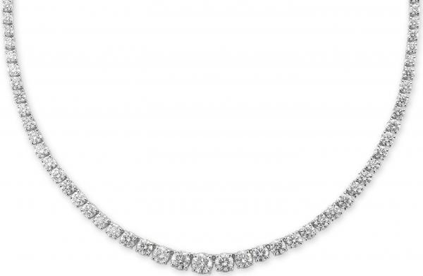 Paramount Gems diamond riviera necklace