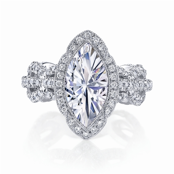Katharine James Sposa Bella marquise engagement ring