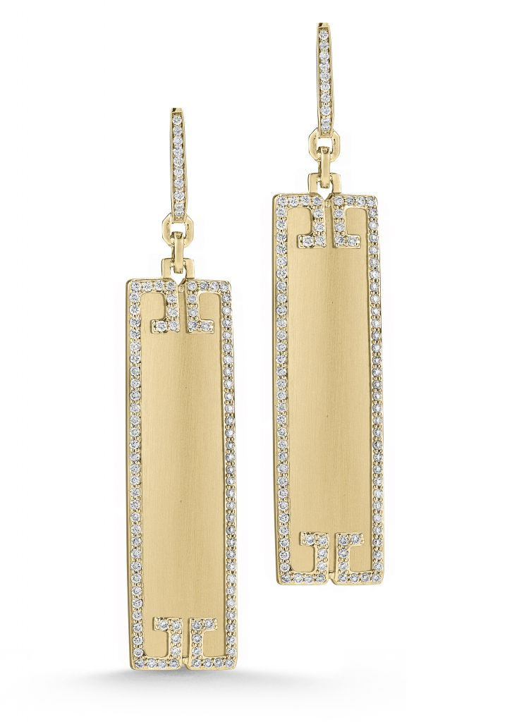 Ivanka Trump Metropolis column earrings