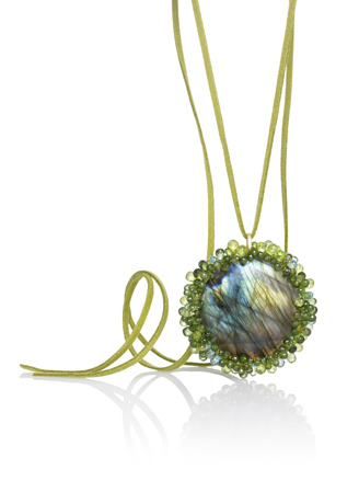 Joseph Murray gemstone pendant