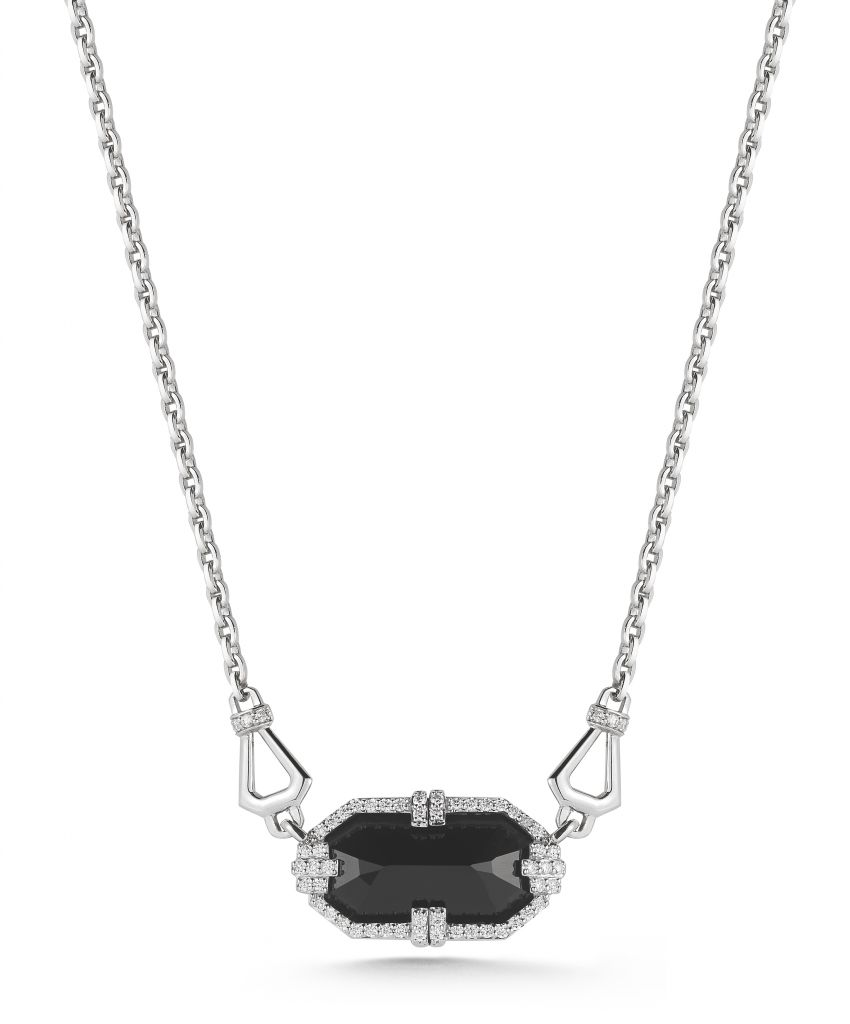 Ivanka Trump Patras black onyx necklace