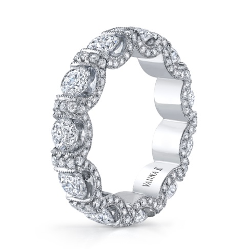 Vanna K Love Eternally diamond wedding band