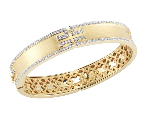Ivanka Trump Metropolis diamond bangle bracelet