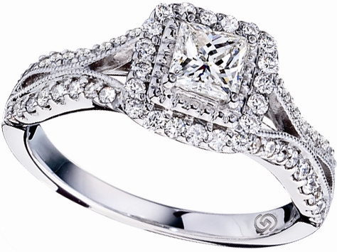 Gottlieb & Sons Just Beginning diamond engagement ring