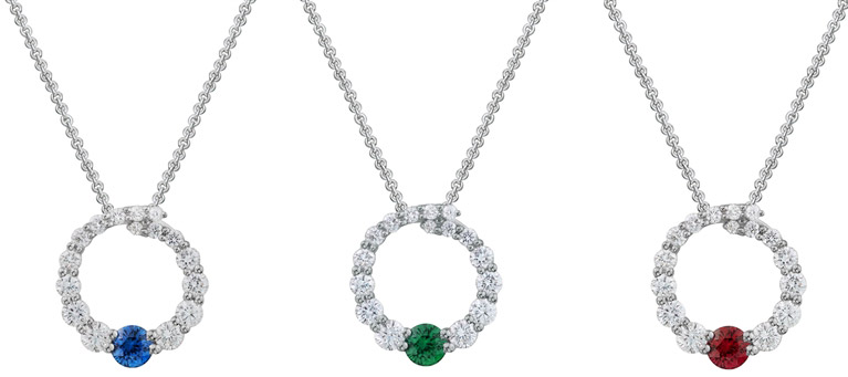Artistry, Ltd. Rio diamond circle pendant