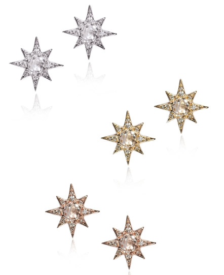 Anzie Starbust mini stud earrings