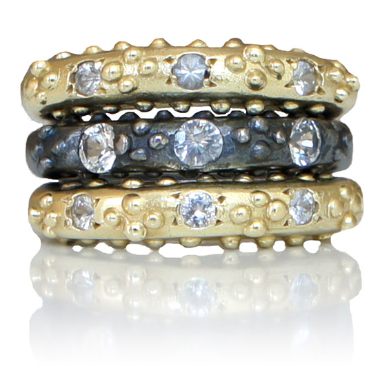 Ana Cavalheiro Romanesque stacking rings