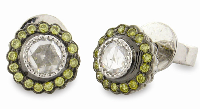 Sethi Couture True Romance stud earrings