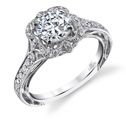 Parade Designs Lyria diamond engagement ring