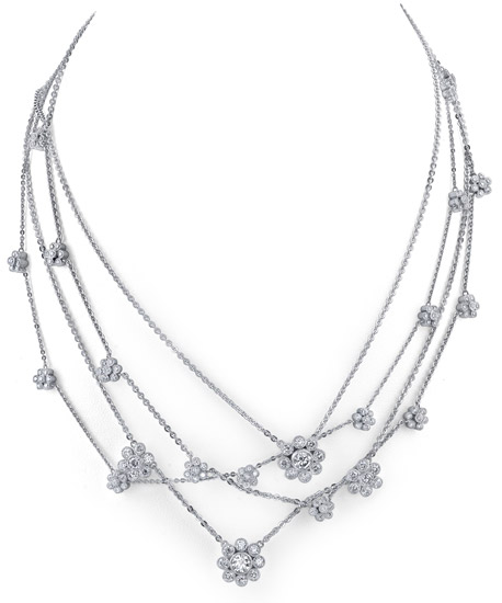 Katharine James Bouquet Diamond necklace