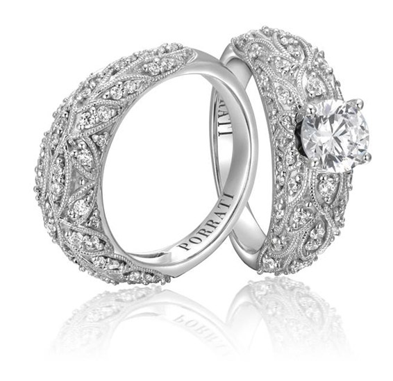 Porrati Milano diamond engagement ring
