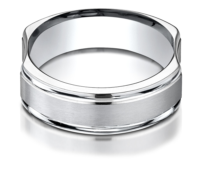Benchmark Grip-Fit Men's wedding band
