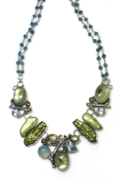 Echo of the Dreamer Four Seasons Spring necklace