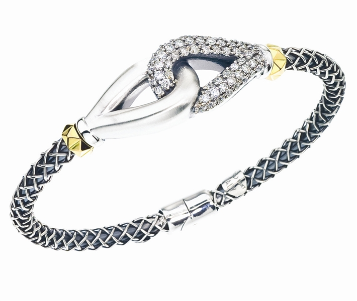 Alisa Cortona Knot bangle bracelet