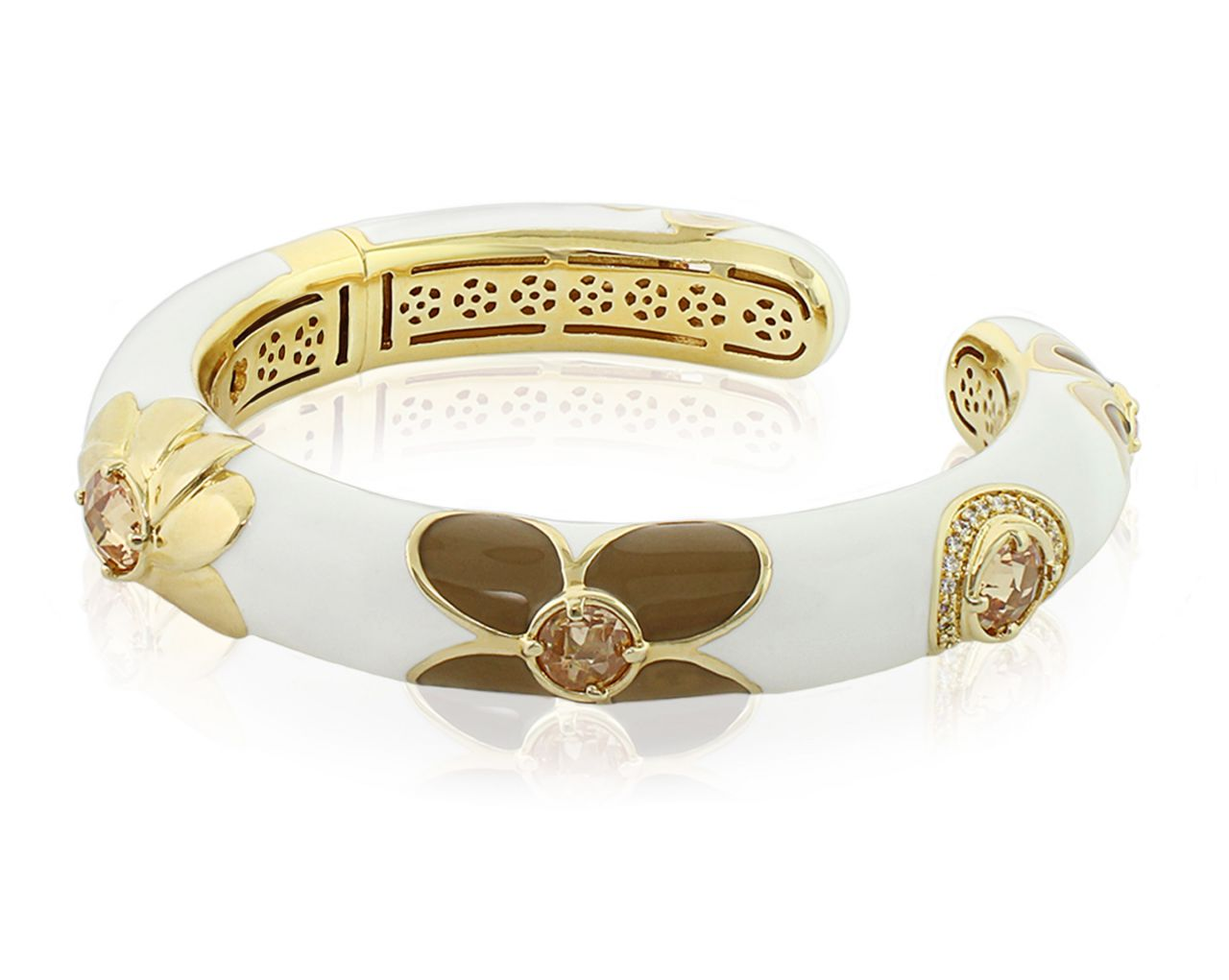Lauren G Adams Falling Flowers bangle bracelet